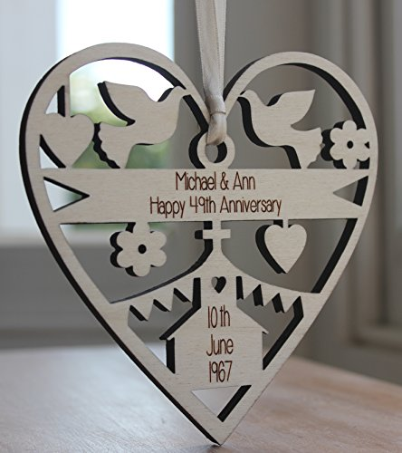 Wedding Anniversary Gifts For Each Year Uk : Home Occasion Gifts ALPHABET BARN Anniversary wedding gift ...