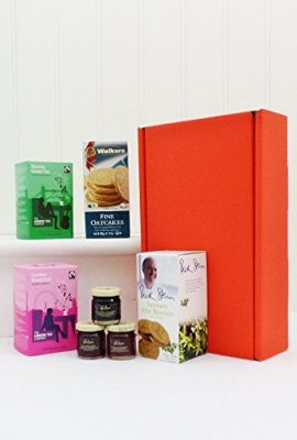 Breakfast-In-Bed-Red-Gift-Box-Hamper-from-Fine-Food-Store-7-Items-Gift-ideas-for-ChristmasFathers-DayValentinesPresentsBirthdayMenHimDadHerMumThank-youWedding-AnniversaryEngagement18th21st30th40th50th-0