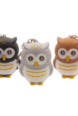 Cute-LED-light-up-Hooting-Owl-Keyring-Key-chain-torch-0
