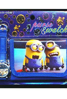 Despicable-Me-2-1-Childrens-Watch-Wallet-Set-For-Kids-Boys-Girls-Christmas-Gift-Gifts-Sold-by-Happy-Bargains-Ltd-0