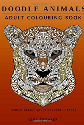 Doodle-Animals-Adult-Colouring-Book-Stress-Relief-Adult-Colouring-Pages-0