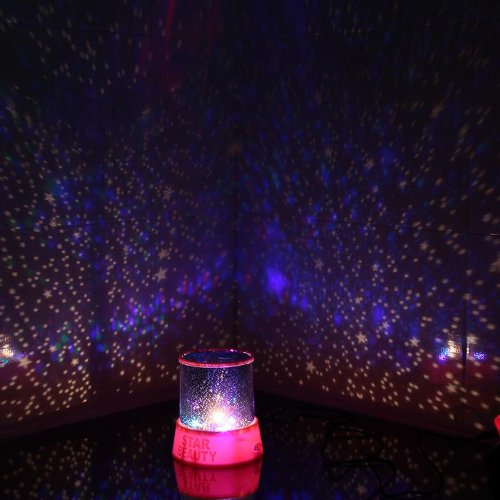 Innoo tech led night light lamp projector children 39 s gift for Bedroom night light