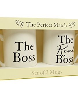 Wedding Gift For Bosss Daughter : ... BOSS & THE REAL BOSS? BONE CHINA MUGS WEDDING OR ANNIVERSARY GIFT