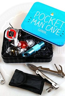 Tool-Pocket-Man-Cave-Tin-with-Lindt-Truffles-Multi-tool-with-led-Torch-Mini-Screwdriver-with-bits-Torch-and-Tape-Measure-Perfect-for-the-gift-for-the-man-who-has-everything-in-there-life-0