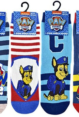 4-Pairs-Boys-Paw-Patrol-Chase-and-Marshall-Ankle-Socks-0