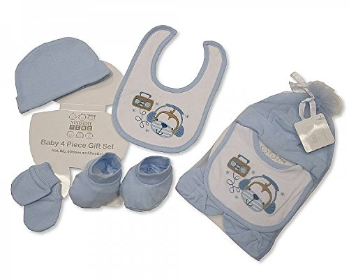 Baby Gift Set 11 Pieces : Piece baby gift set with mesh bag size newborn