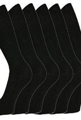 6-Pairs-of-Mens-Black-Cotton-Rich-Formal-Socks-with-Lycra-6-11-0