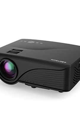 Abdtech-1200-Lumens-Mini-LED-Multimedia-Home-Theater-Projector-Max-120-Screen-Optical-Keystone-USBAVSDHDMIVGA-Interface-Ideal-for-Video-Games-Movie-Night-Family-Videos-and-Pictures-0