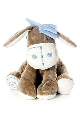 Adorable-Little-Blue-Donkey-Soft-Toy-Cot-Toy-for-New-Born-Baby-Boy-Gift-0