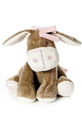Adorable-Little-Pink-Donkey-Soft-Toy-Cot-Toy-for-New-Born-Baby-Girl-Gift-0