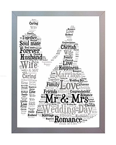 Wedding Gift Ideas For New Wife : ... Wedding-Photo-Picture-Present-Keepsake-Gift-for-New-Husband-and-Wife-0