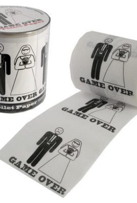 GAME-OVER-TOILET-PAPER-WEDDING-GIFT-NOVELTY-FUN-ROLL-PARTY-TISSUE-DECORATION-NEW-0