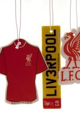 Official-Liverpool-FC-Car-Air-Freshener-3-Pack-A-Great-Gift-Present-For-Men-Sons-Husbands-Dads-Boyfriends-For-Christmas-Birthdays-Fathers-Day-Valentines-Day-Anniversaries-Or-Just-As-A-Treat-For-Any-Av-0