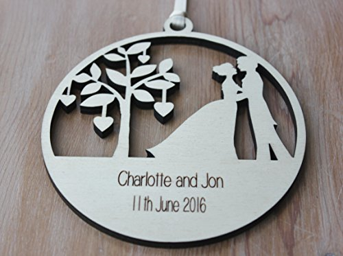 Home Occasion Gifts ALPHABET BARN Wedding gift personalised engraved ...