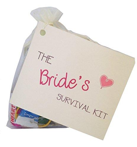 Bride to be Novelty Survival Kit Wedding gift for the bride Keepsake wedding favour 0