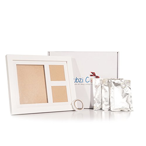 Quality Baby Gifts Uk : Charming baby handprint and footprint frame kit