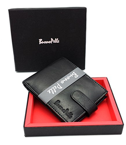 designer buono pelle real leather mens wallet credit