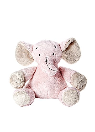 Little Pink Elephant Soft Toy Cuddly Cot Toy For New Born