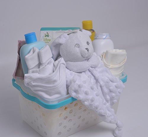 Baby Gift Basket Contents : Newborn baby gift basket
