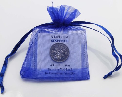 Personalised Lucky Sixpence Graduation Gift Unique