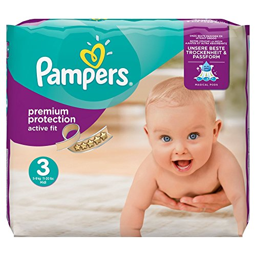 pampers active fit nappies. Black Bedroom Furniture Sets. Home Design Ideas